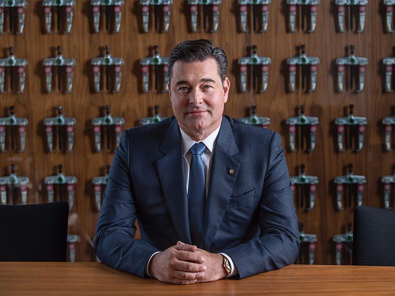 Portrait des Geschäftsinhabers Michael Kleinbongartz